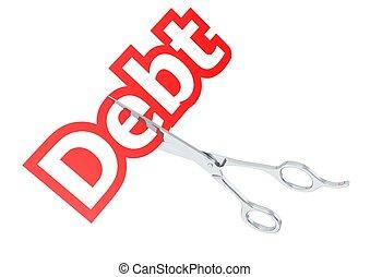 Cut debt