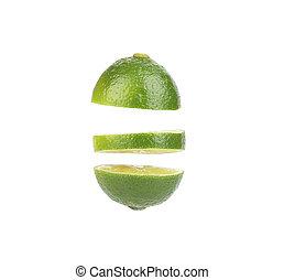 Cut lime.