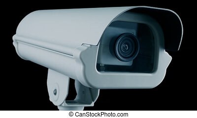 Cut Out CCTV Camera Flashing Loop With Alpha Channel - CCTV ...
