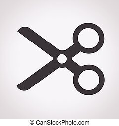 Cut, scissors icon
