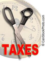 Cut Taxes - Cut taxes before April 15