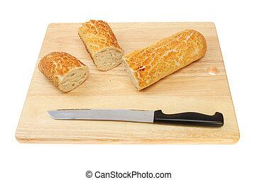 Cut tiger baguette