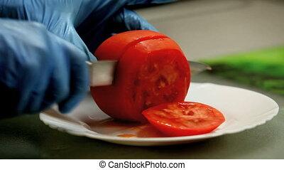 tomato - Cut tomato slices