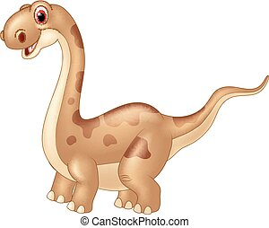 cute, adorável, dinossauro