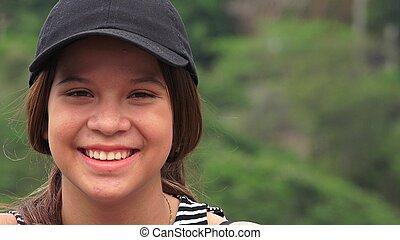 Cute Adorable Teen Girl