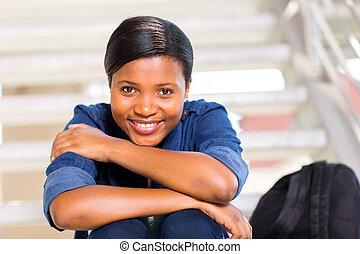 cute african american girl