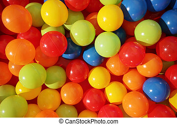 cute and colorful balls