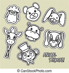 Cute animal card