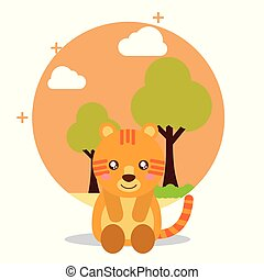 cute animal cartoon