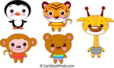 Cute animal set 02