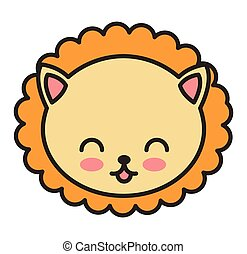 cute animal tender isolated icon