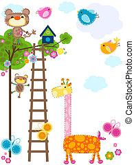 animals background - cute animals background