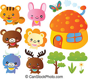Cute Animals Collection