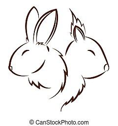 cute animals draw