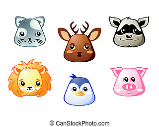 Cute animals | Set 3