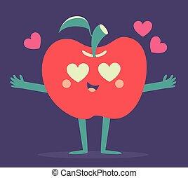 Cute Apple Phone Crazy in Love