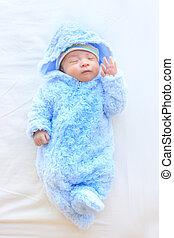 cute, asiático, bebê