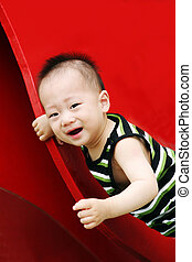 Cute Asian boy