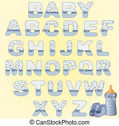 Cute baby alphabet - Cute baby's alphabet