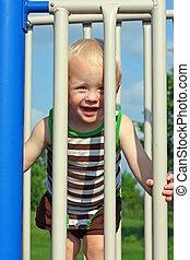 Cute Baby at Playground