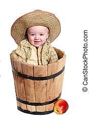 cute baby cowboy