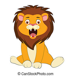 cute baby lion
