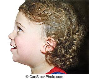 Cute baby profile