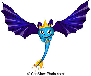 cute bat dragon