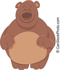 cute bear cartoon animal