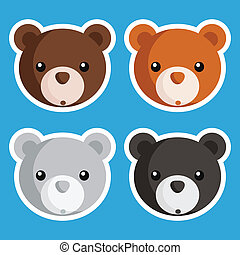 Cute Bear Icons