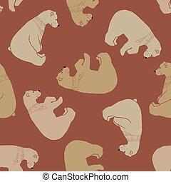 Cute Bear pattern.