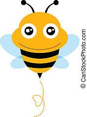 cute, bee.