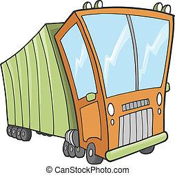 Big Truck Vector