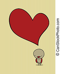 cute bird card