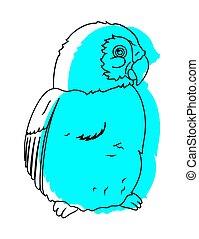 Cute Bird Drawing