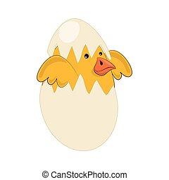 cute bird nest icon vector illustration design
