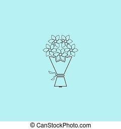 Cute bouquet of flowers