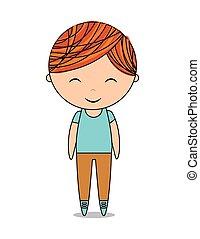 cute boy design
