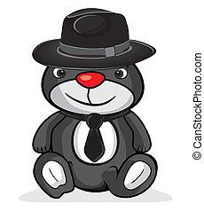 cute business bear