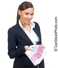 Cute Business Woman