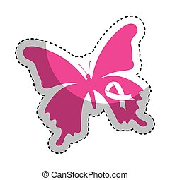 cute butterfly isolated icon