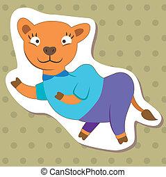 cute cartoon animal05
