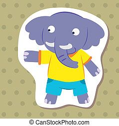 cute cartoon animal06