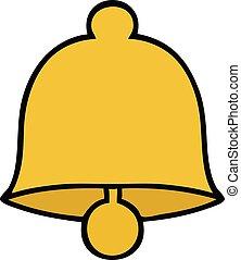 cute cartoon brass bell