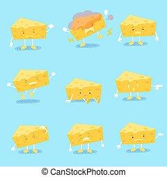 cute cartoon cheese