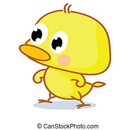 cute cartoon chicks