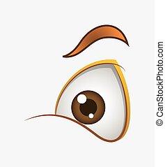 Cute Cartoon Eye