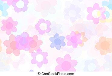 Cute Cartoon Flowers