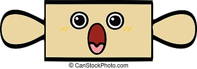 cute cartoon rolling pin - cute cartoon of a rolling pin