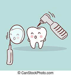 cute cartoon tooth